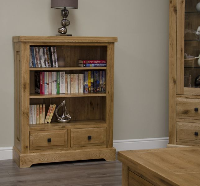 Deluxe Rustic Small Bookcase